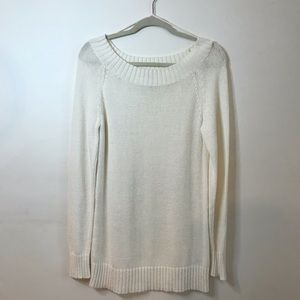 Michael Kors lightweight Ivory tunic sweater
